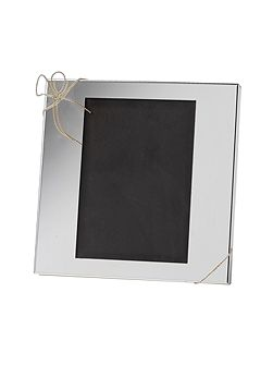 Wedgwood Vera Wang Love knots medium picture frame