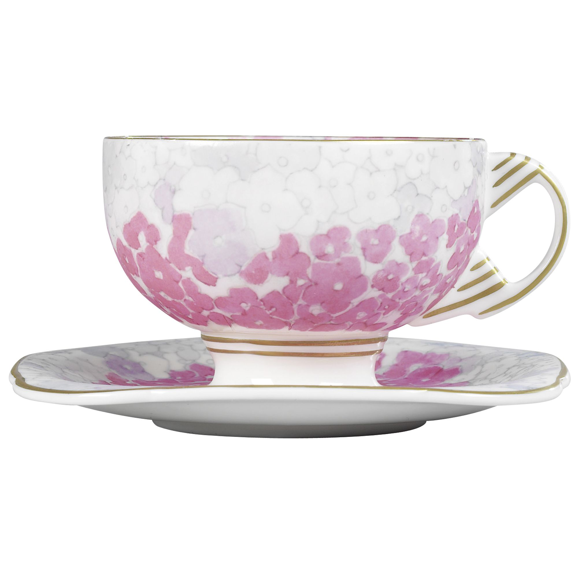Deco bloom cup and saucer