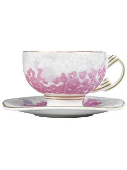 Wedgwood Deco bloom cup and saucer