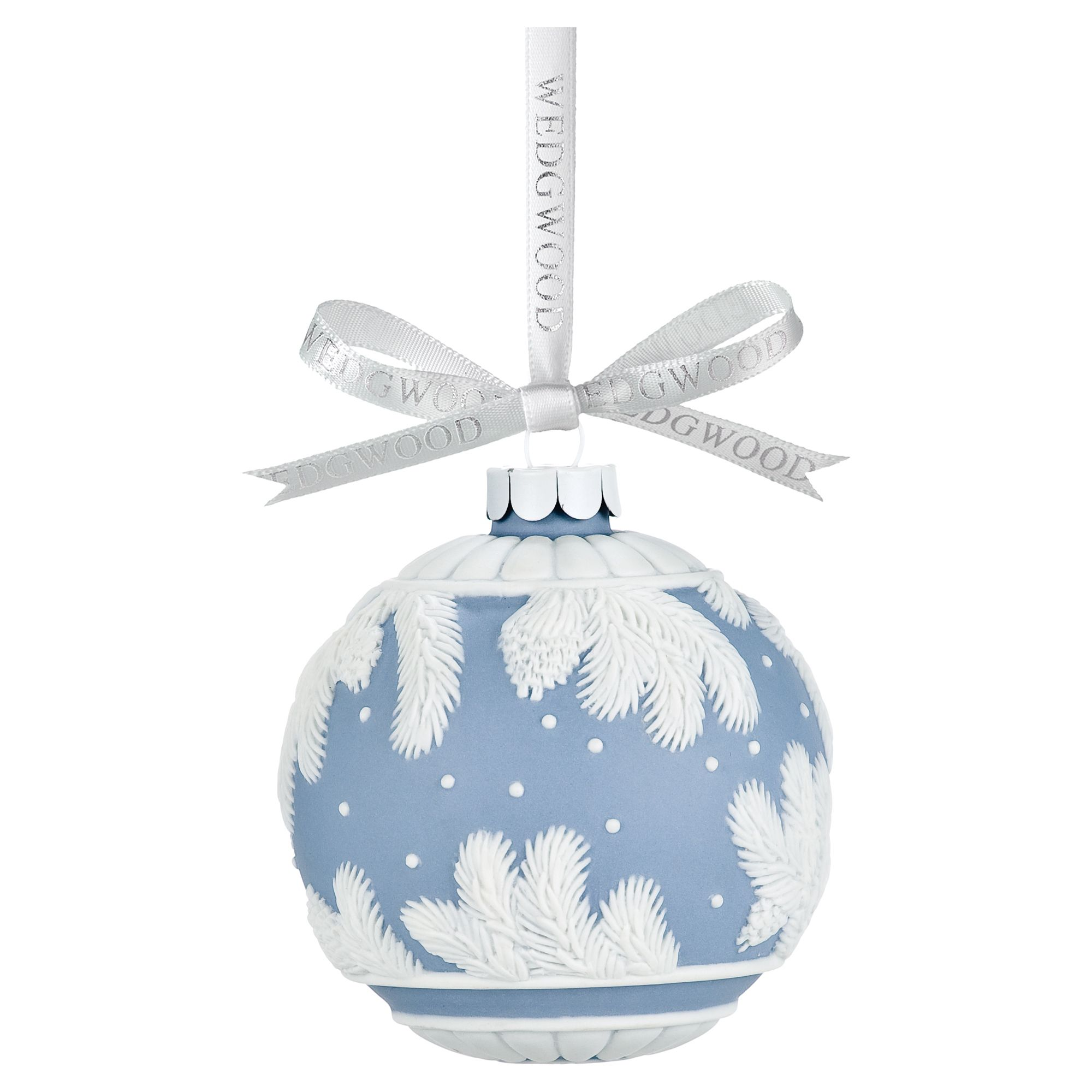 Wedgwood Pine cone ball decoration