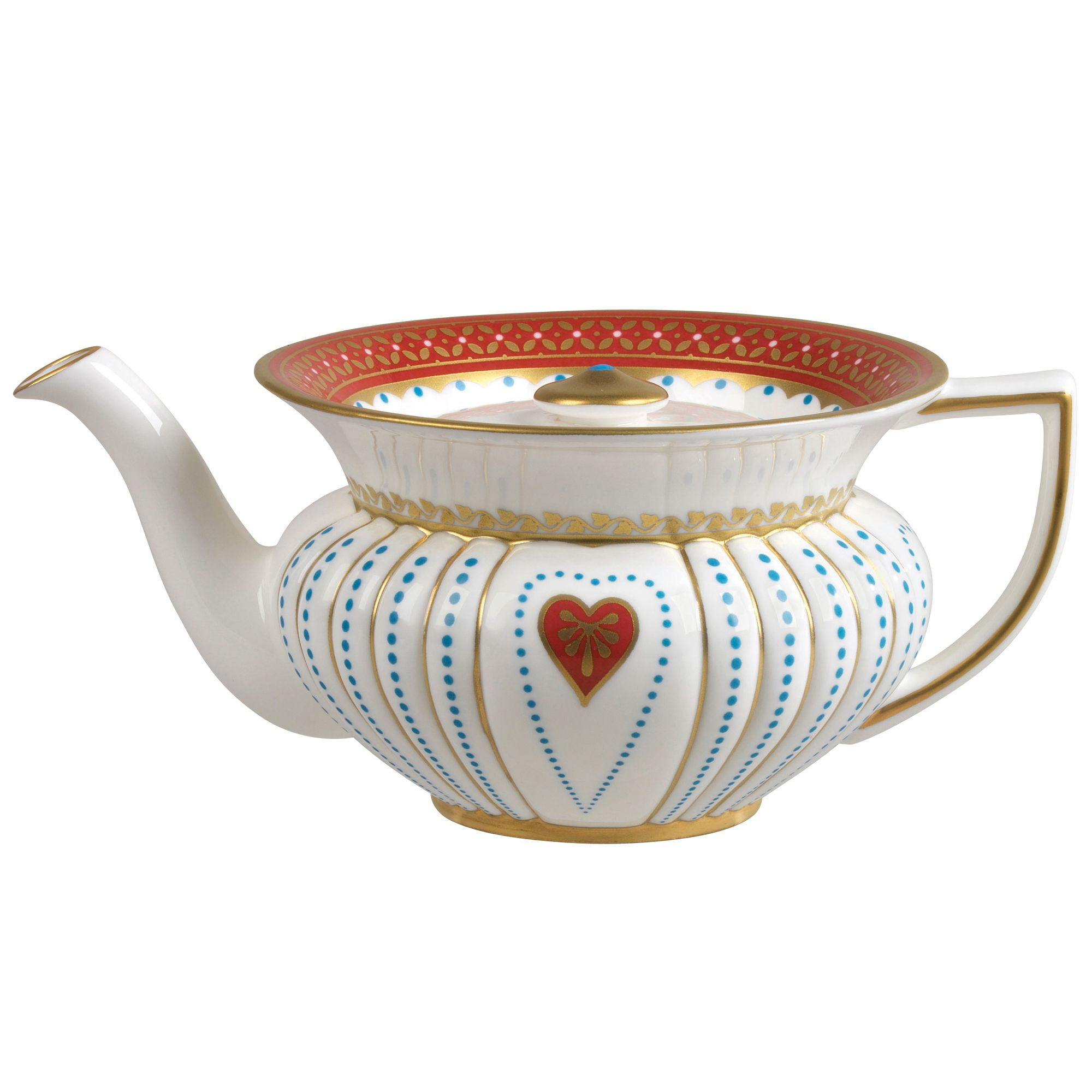 Queen of Hearts collection teapot