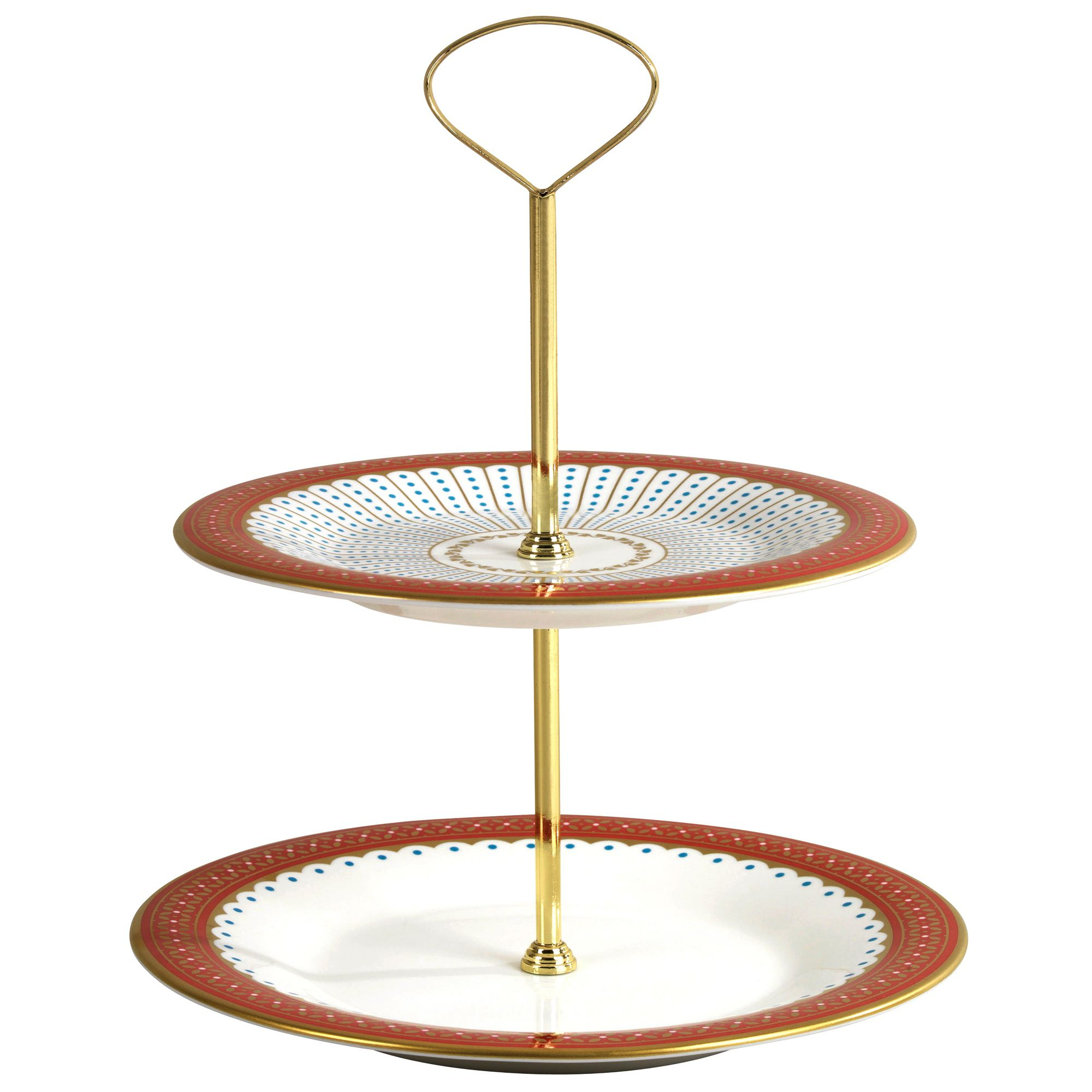 Queen of hearts cake stand
