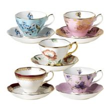 Royal Albert 100 years 10 piece set, 1950 to 1990