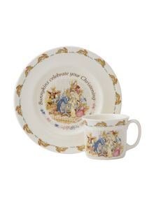 Royal Doulton Bunnykins christening nurseryware set