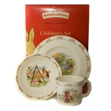 Royal Doulton Classic 3-piece children`s set