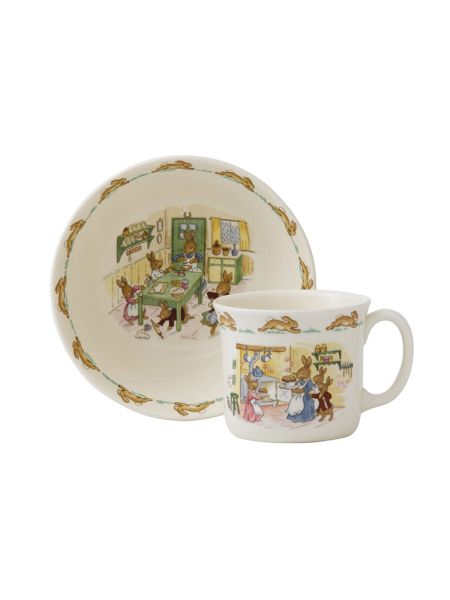 Royal Doulton Bunnykins nurseryware classic 2-piece infant set