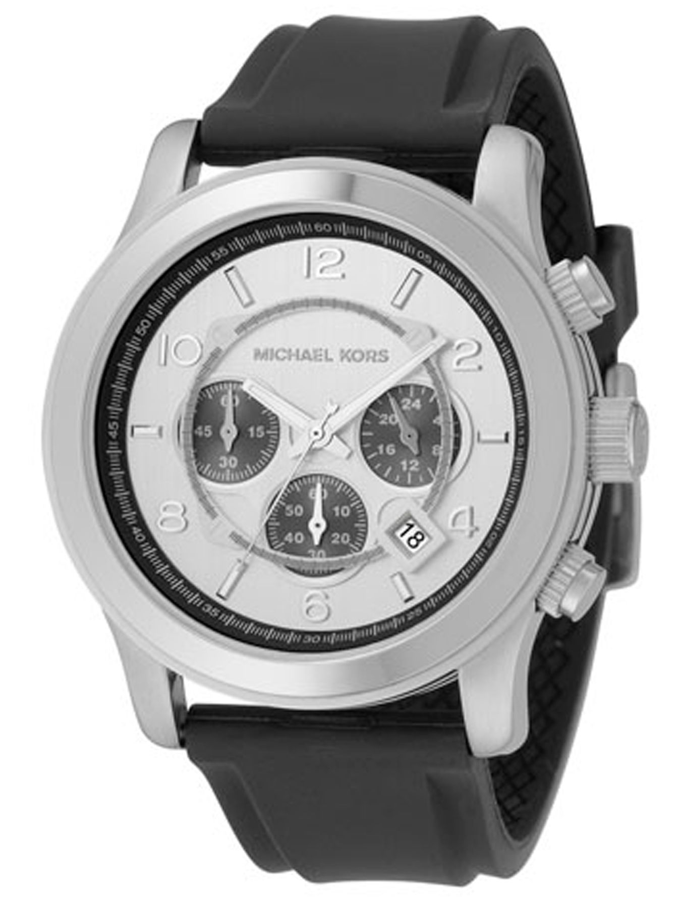 Michael Kors Classic sport rubber strap watch