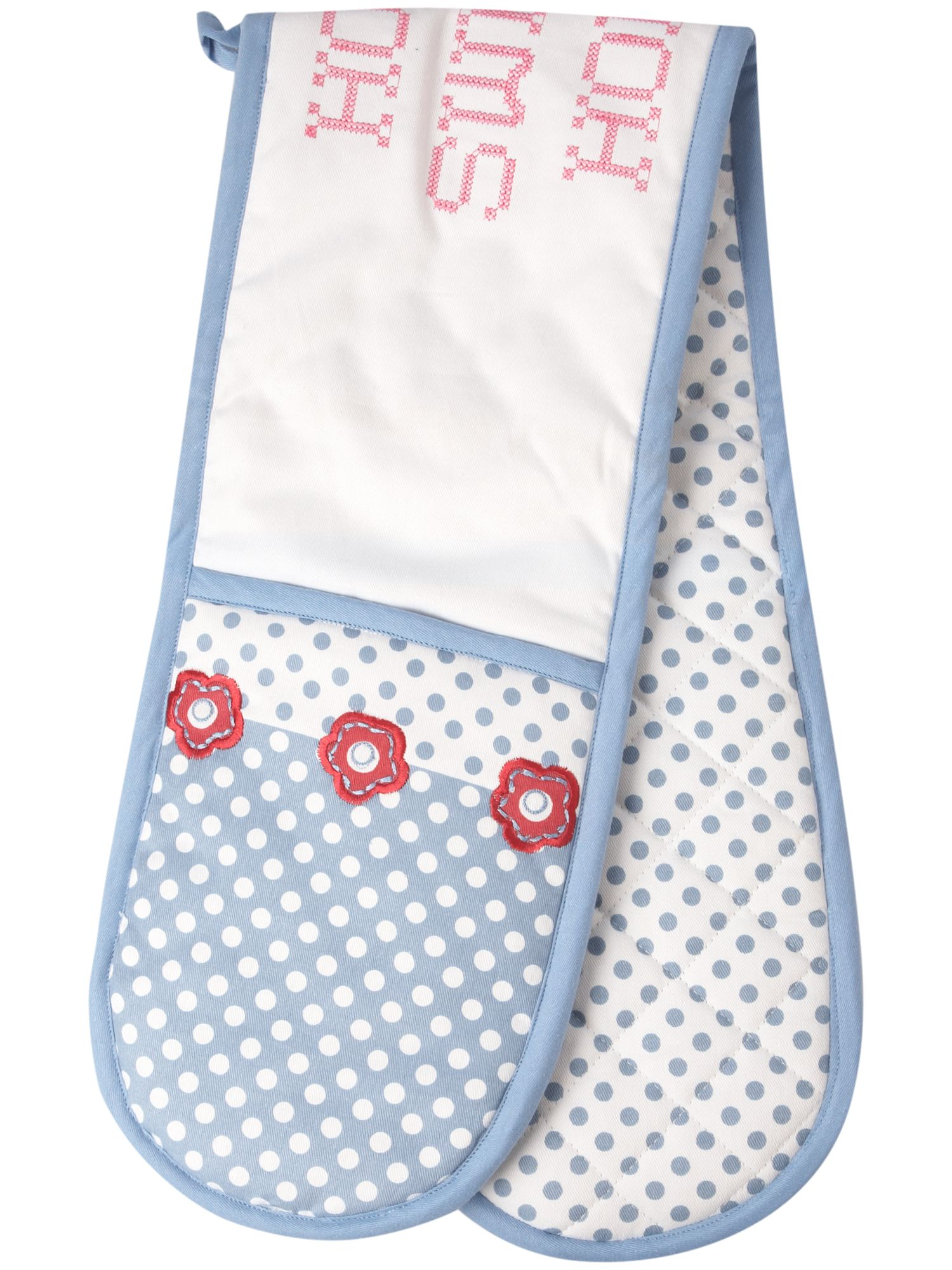 Linea Home Sweet Home double oven glove