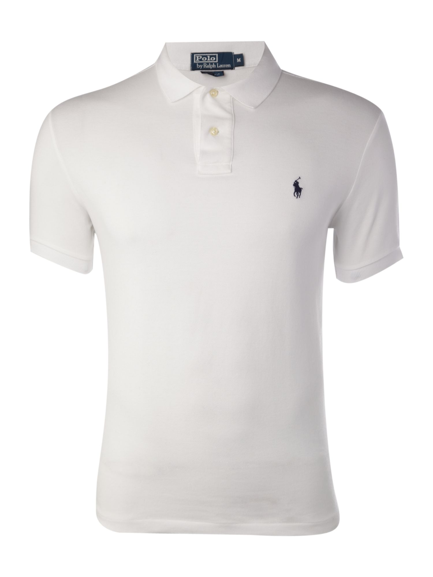 ... Polo Ralph Lauren Short-sleeve slim-fit polo shirt ...