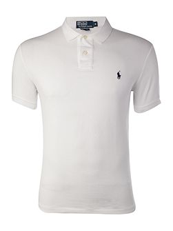 Short-sleeve slim-fit polo shirt