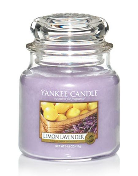 Yankee Candle Medium lemon lavender housewarmer candle