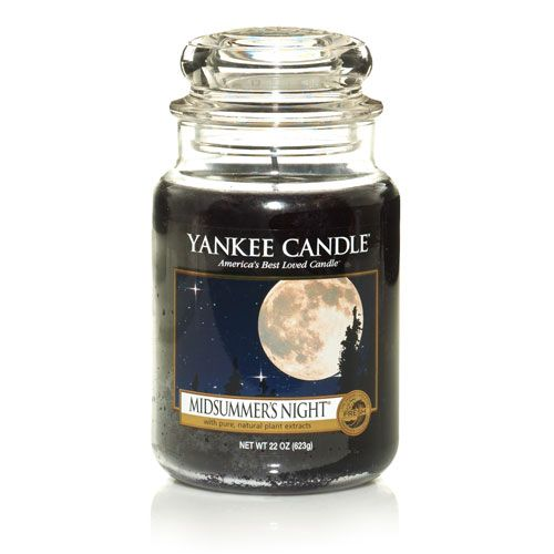 Large midsummers night housewarmer candle