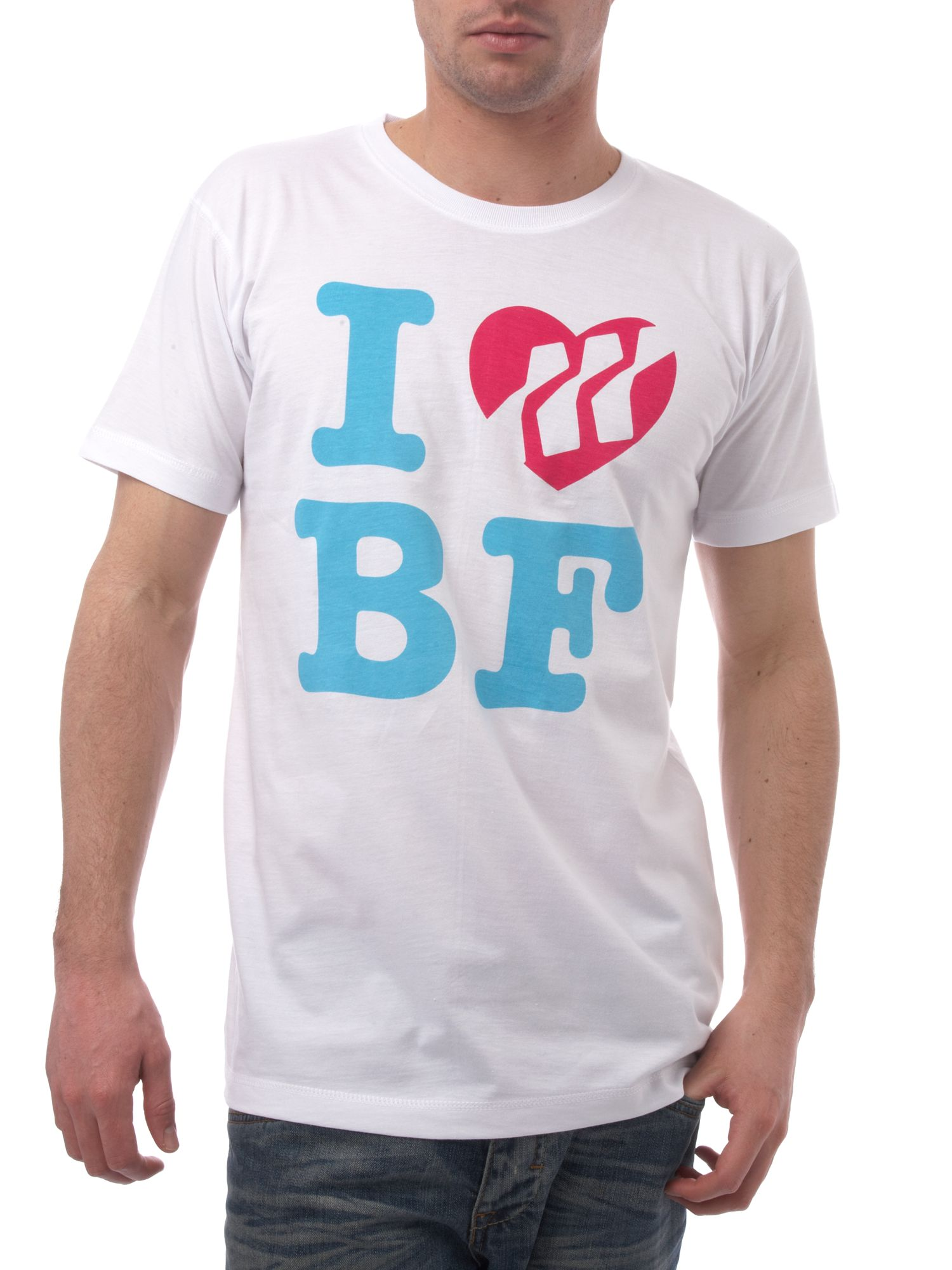 Heart printed T-shirt