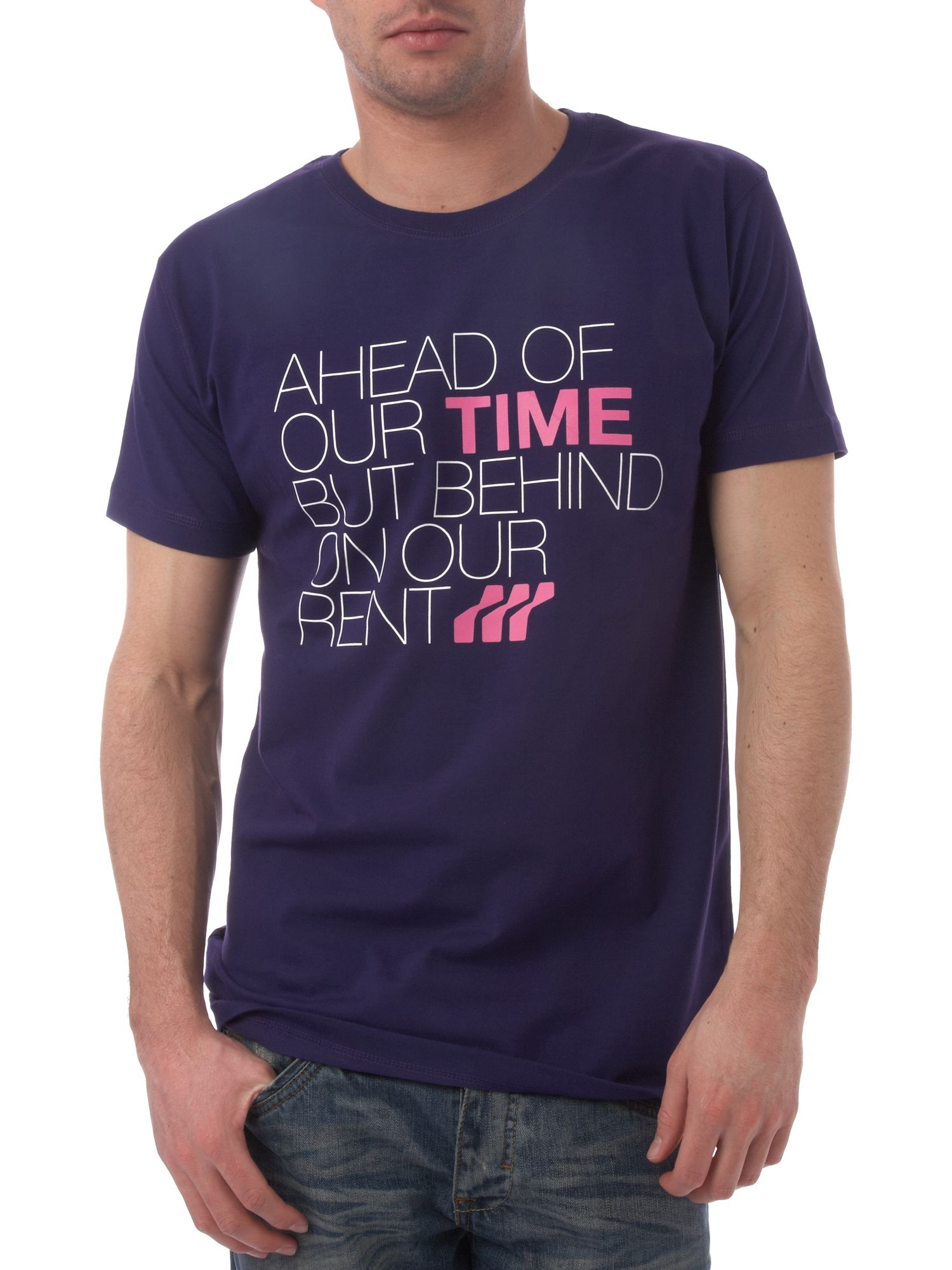 Ahead of our time printed T-shirt
