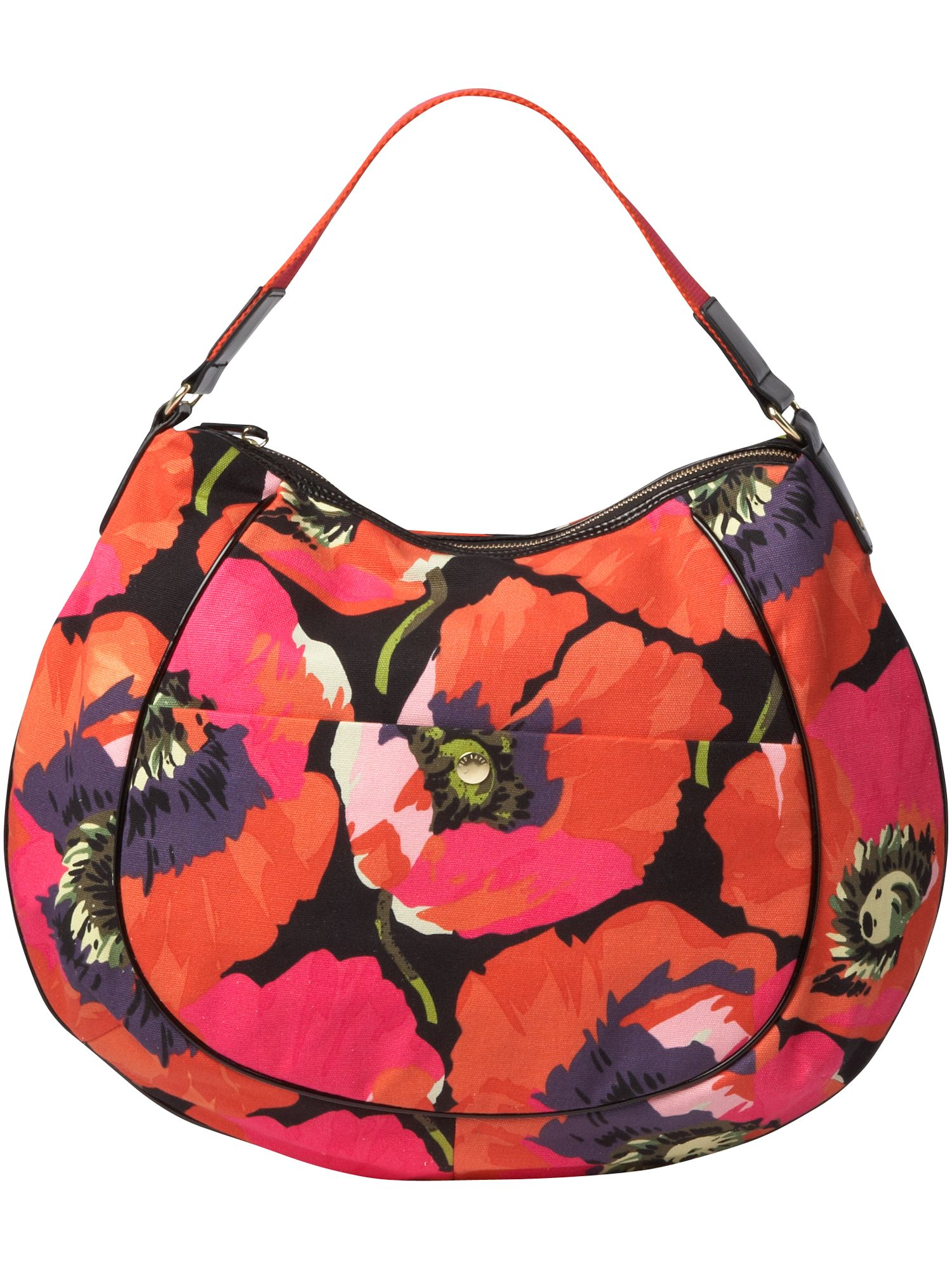 Joso fabric hobo bag.