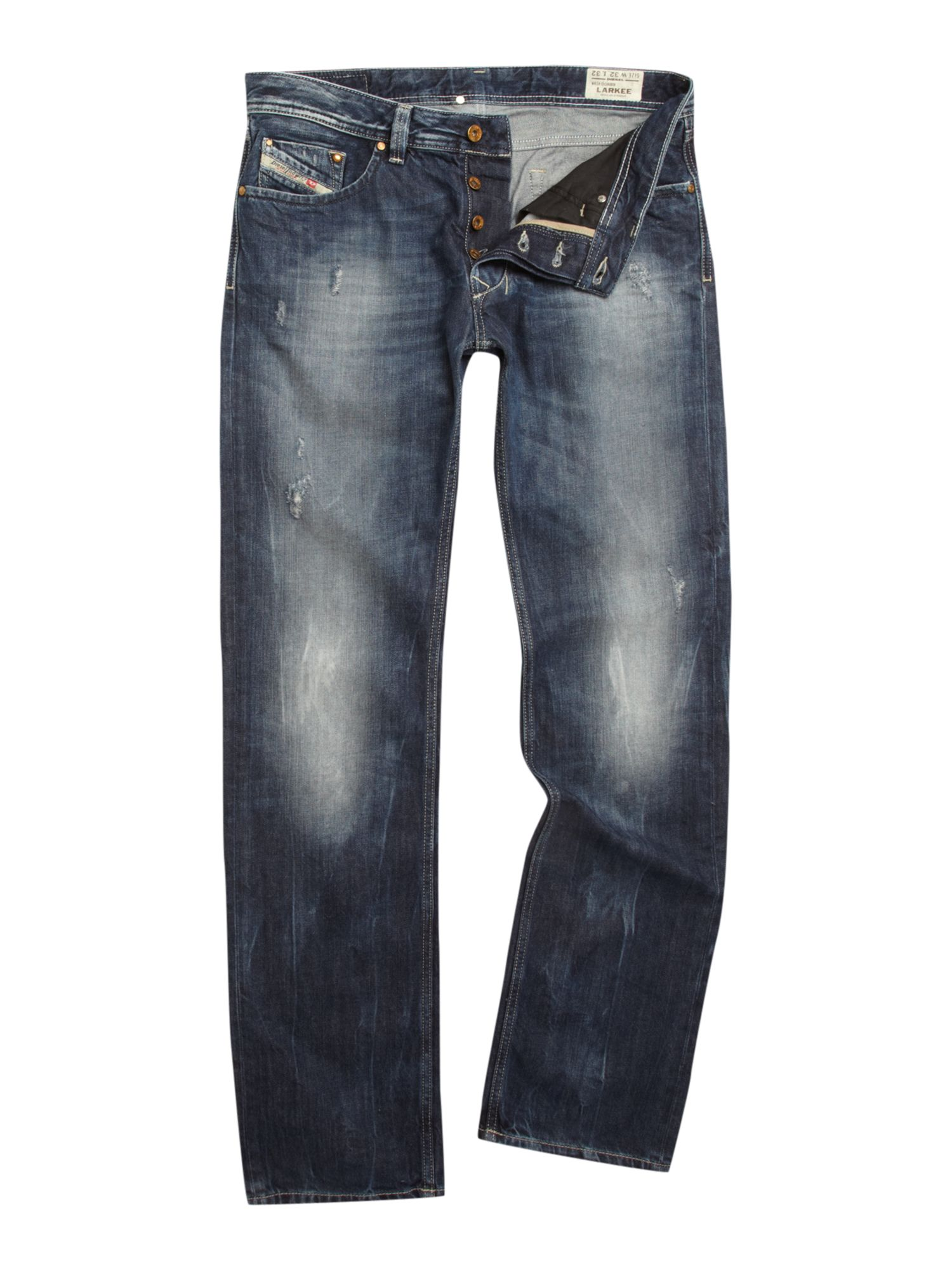 Larkee 8B9 straight fit jeans