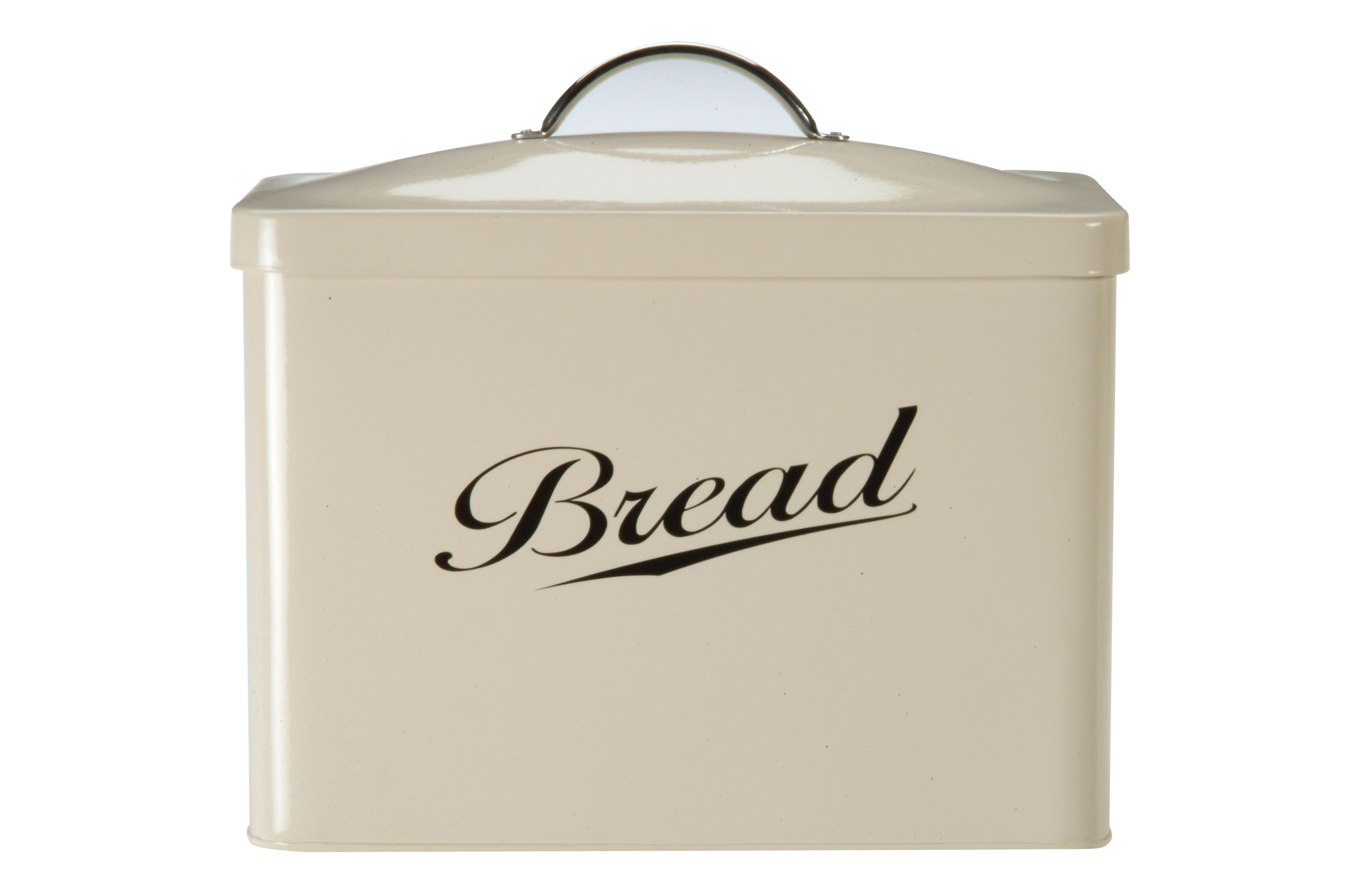Streamline cream bread bin
