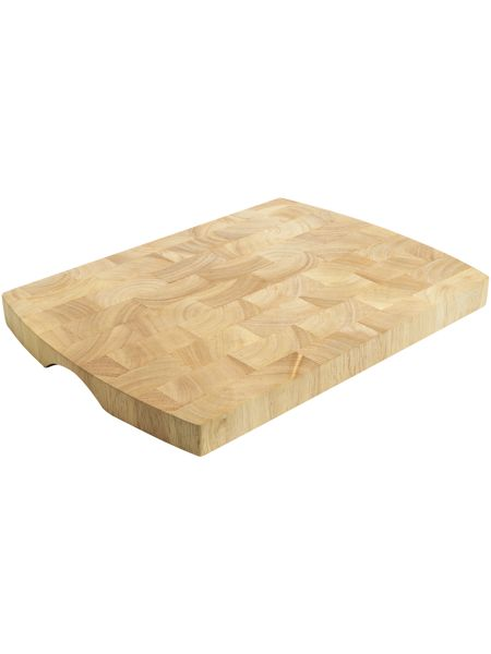 Linea Medium Rubberwood Endgrain chopping board