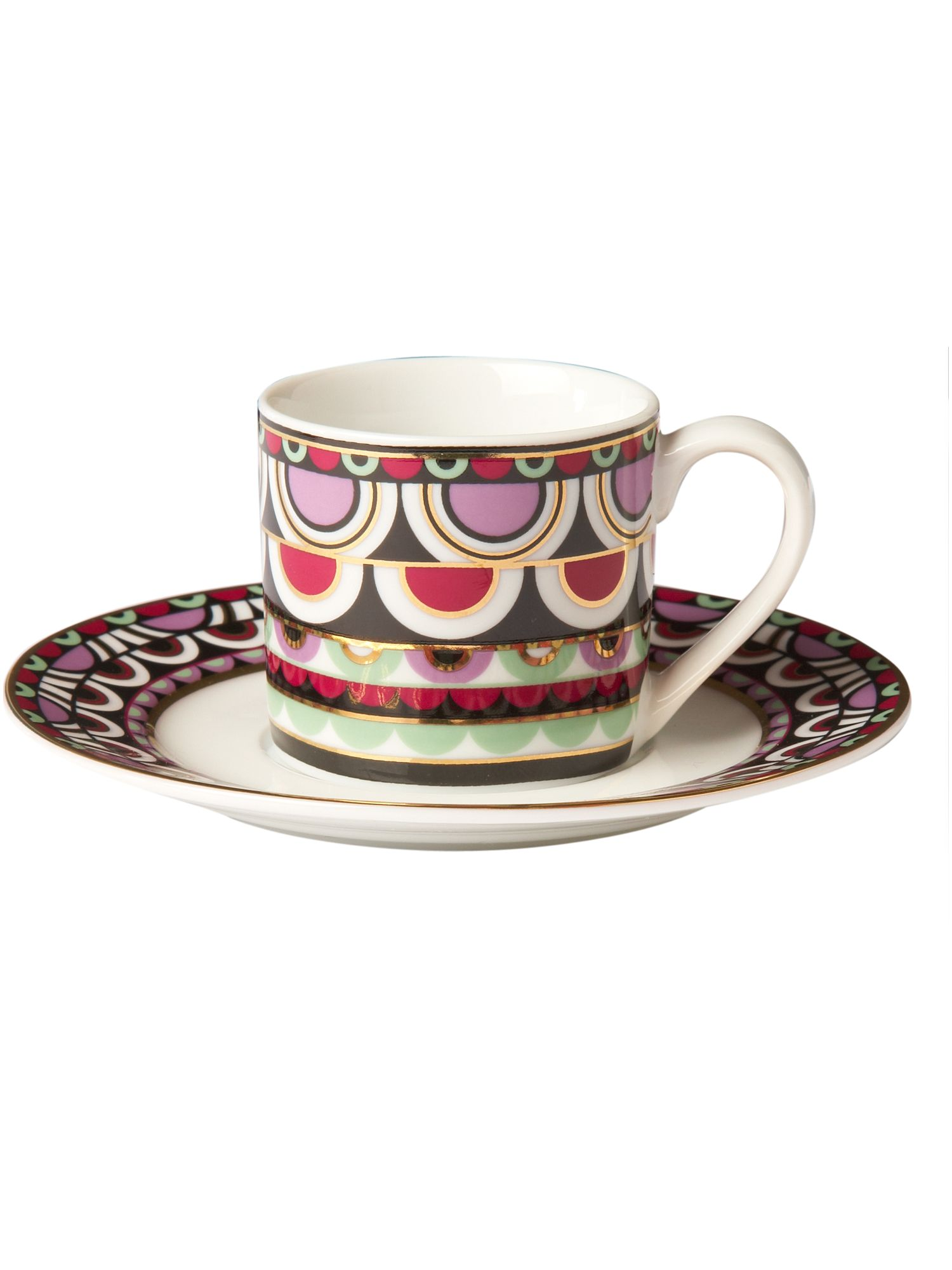 Persia Jewels espresso cup and saucer