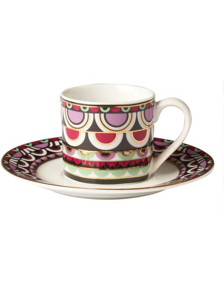 Pied a Terre Persia Jewels espresso cup and saucer