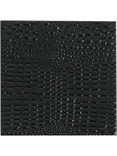 Pied a Terre Black Mock croc set of 4 coasters
