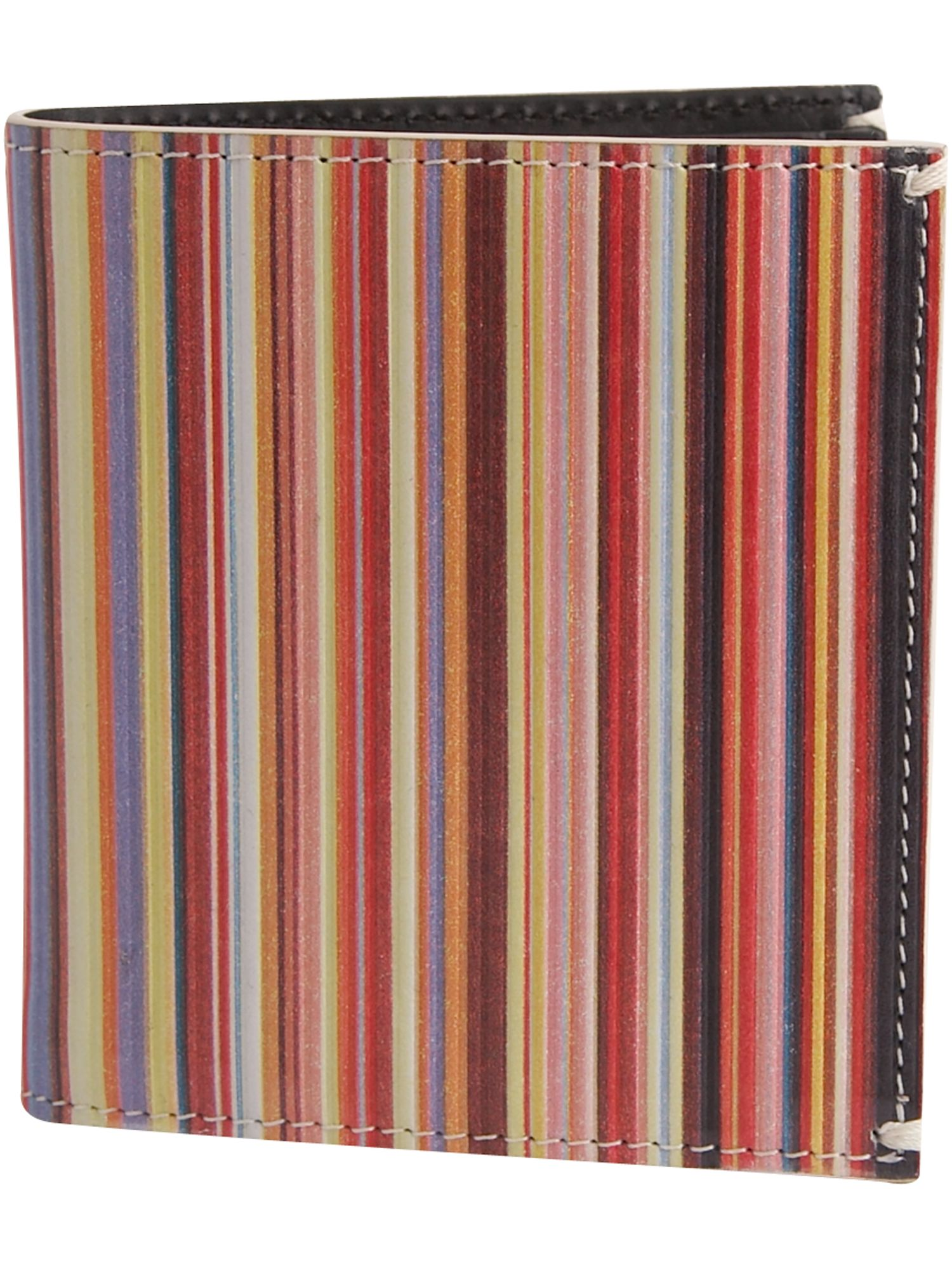 Paul Smith Billfold multi-stripe wallet with coin pocket product image