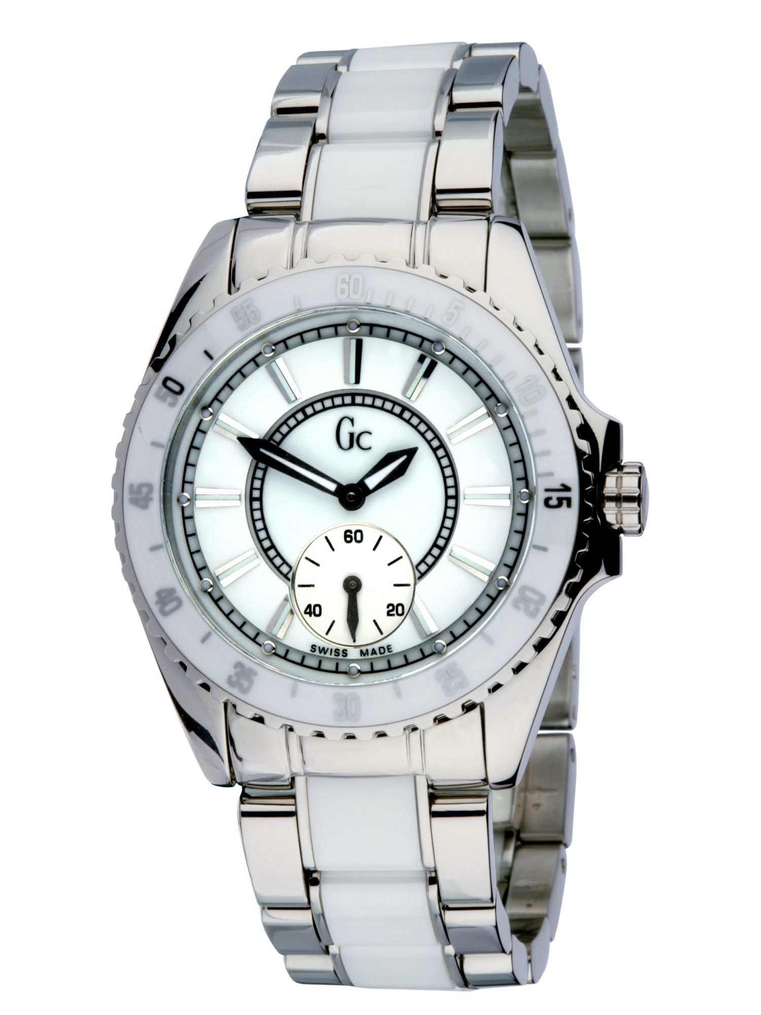 Gc Ladies white dial sports watch product image