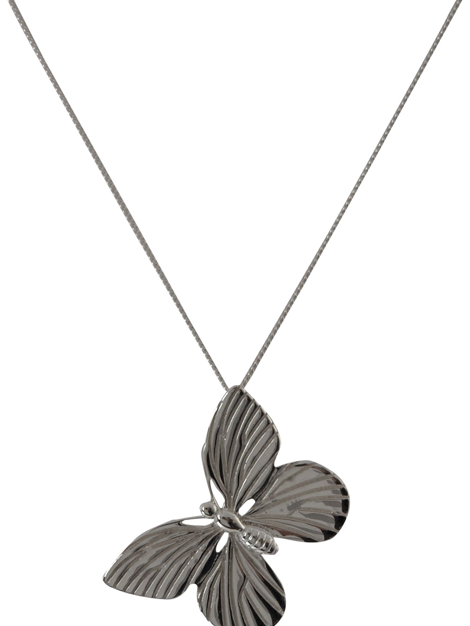 Paul Kennedy Sterling silver butterfly pendant product image