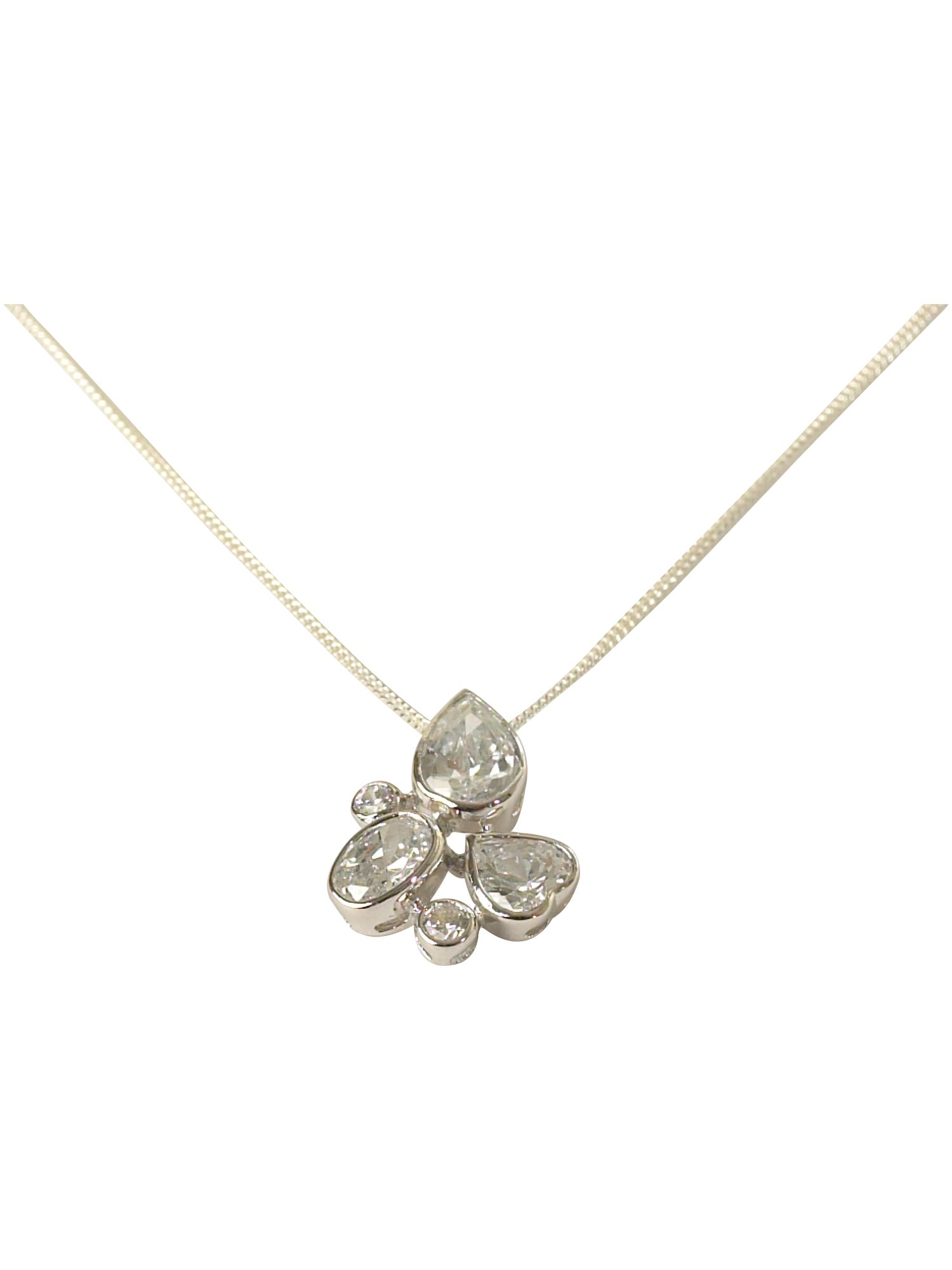 Paul Kennedy Sterling silver four leaf pendant product image