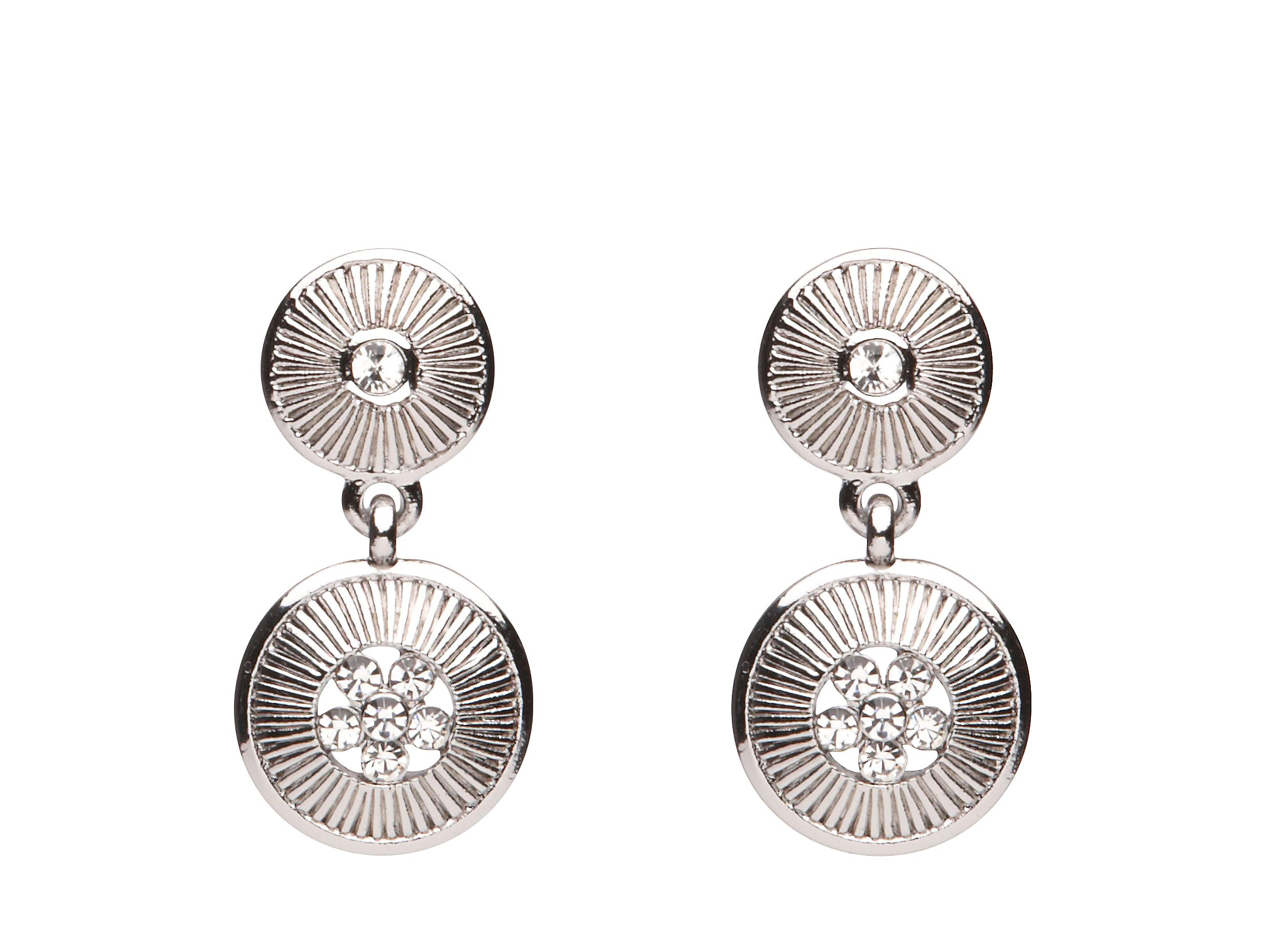 Mimco Double hang drop earring