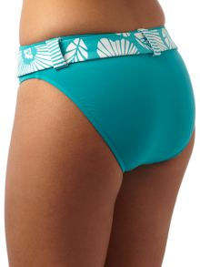 Seafolly Maui retro pant with belt