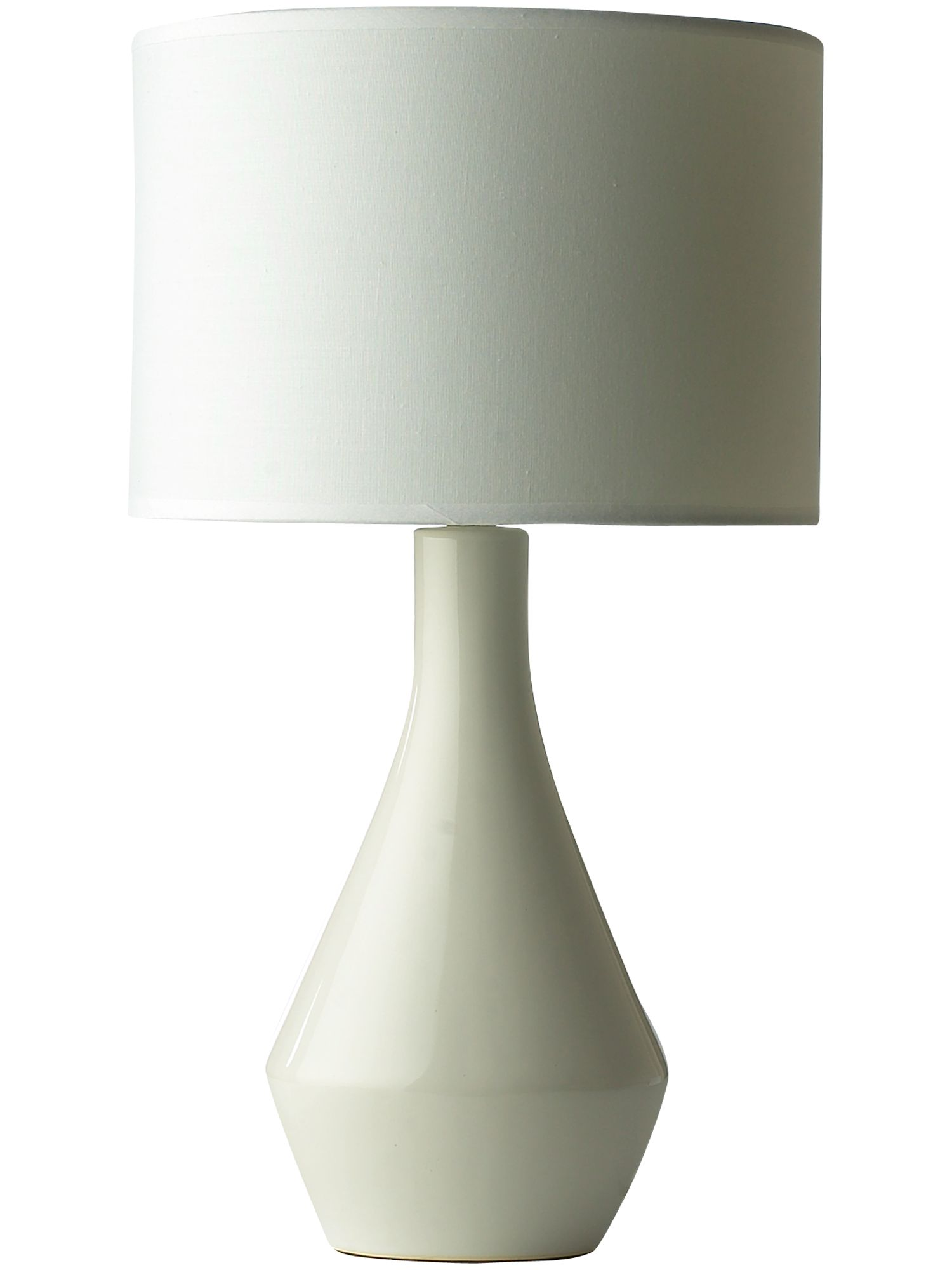Lola white table lamp
