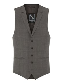 New & Lingwood St James sharkskin suit waistcoat