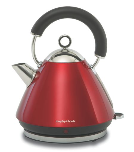 Morphy Richards Red Accents Kettle 43772