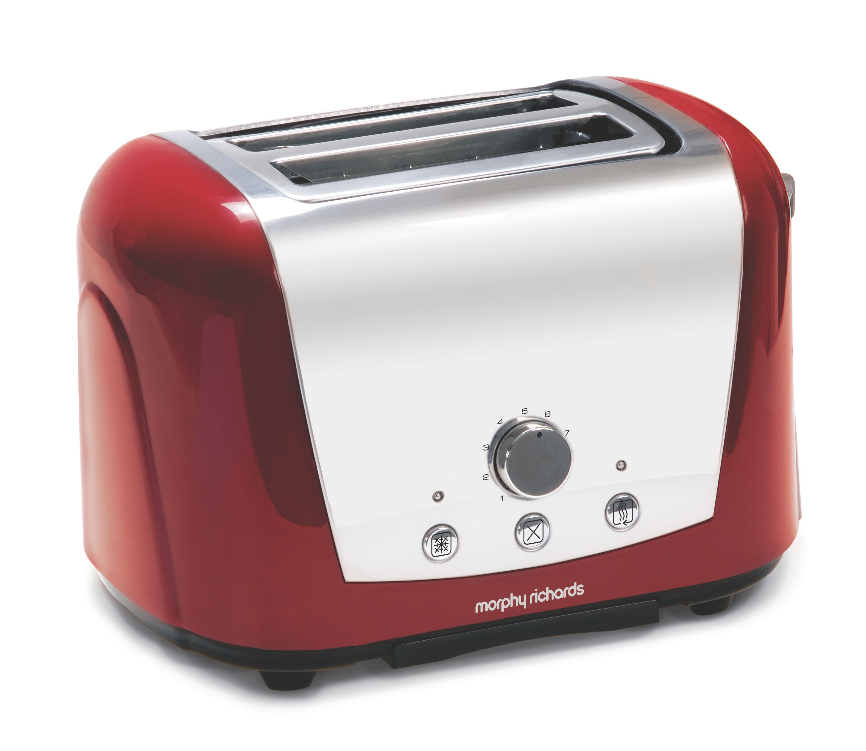 Morphy Richards Red Accents Toaster 44266