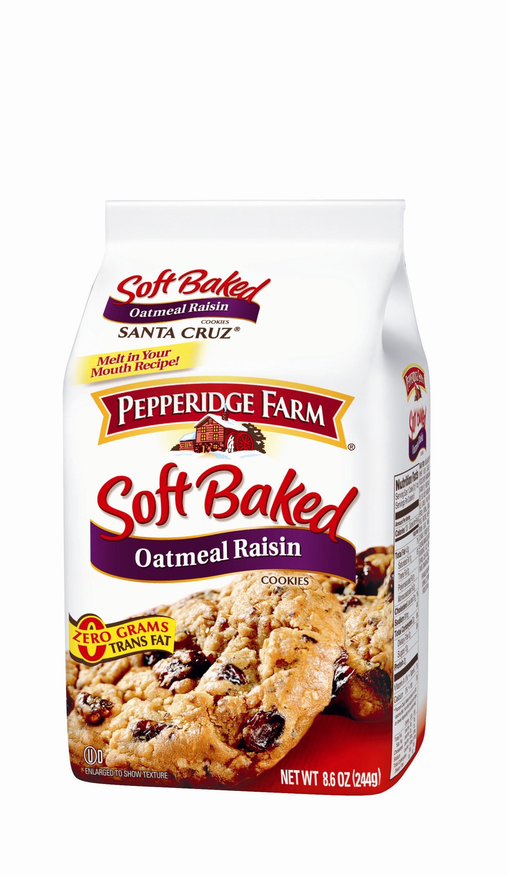 Oatmeal and raisin soft baked