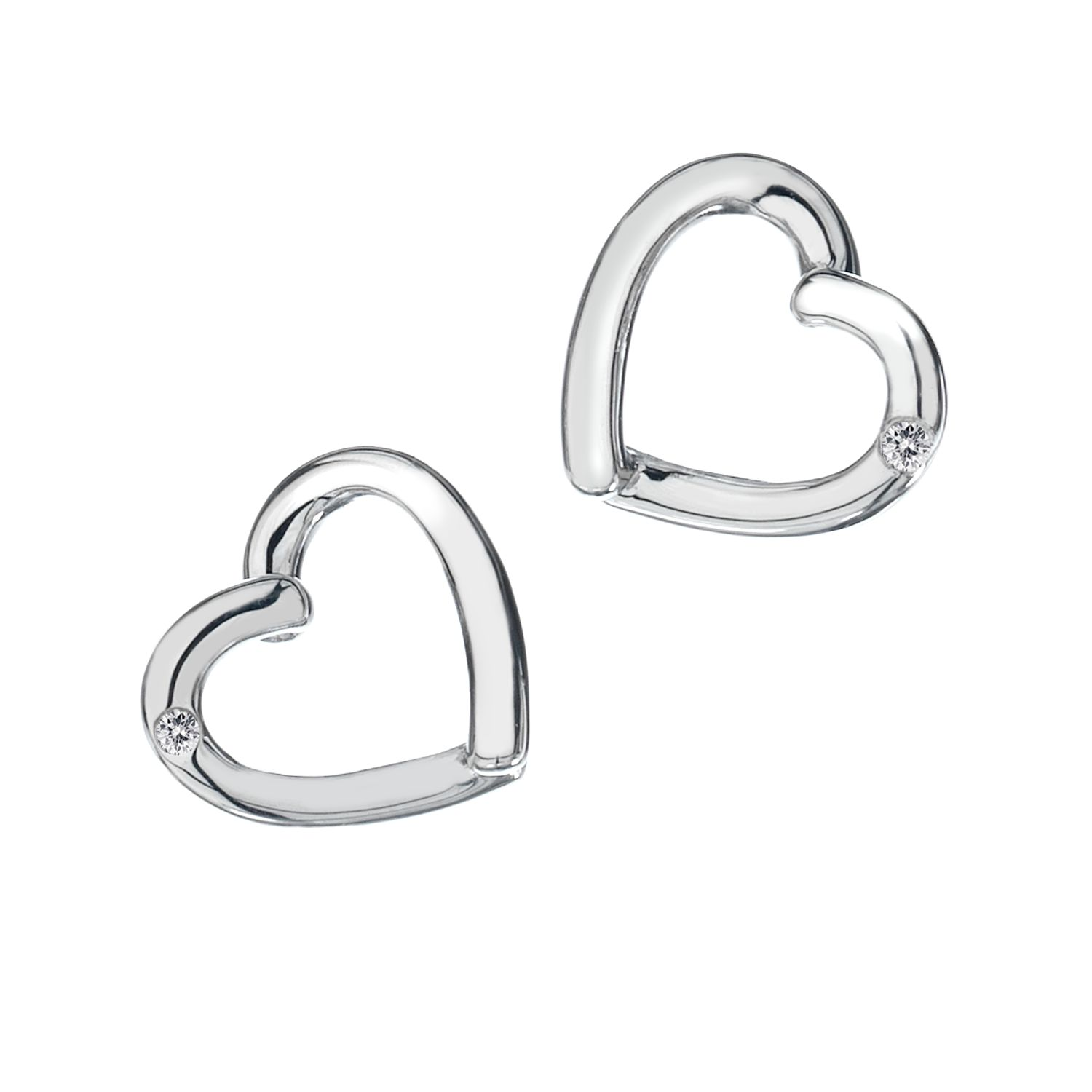 Hot Diamonds Just add love stud earrings product image