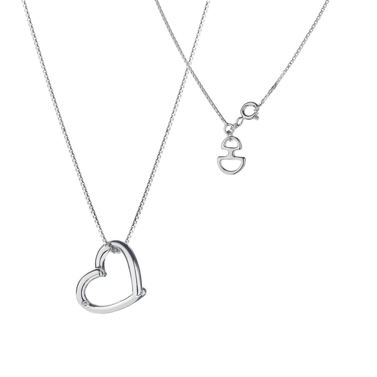 Hot Diamonds Just add love pendant, Silver