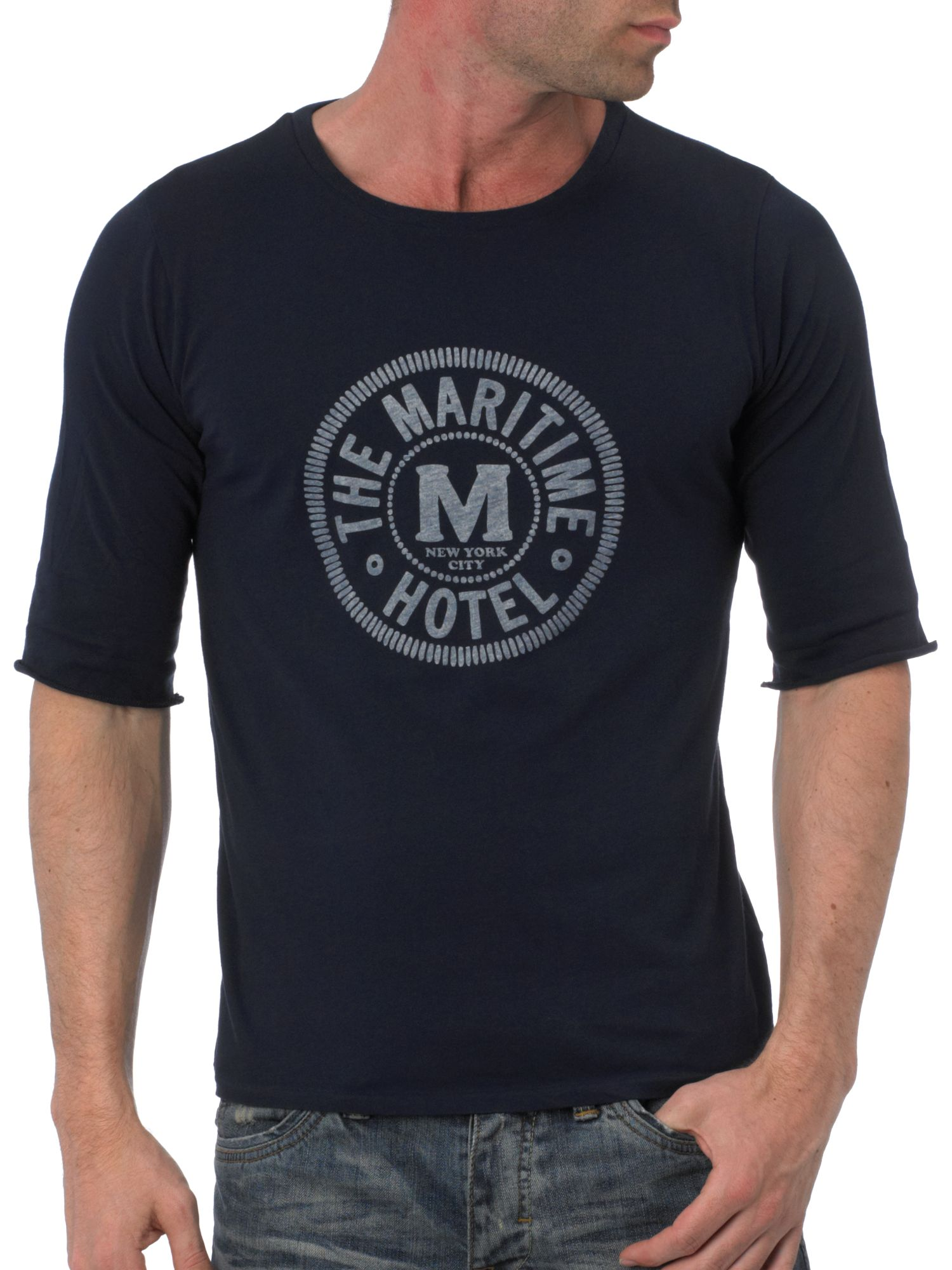 Rugger Roll sleeve maritime t-shirt product image