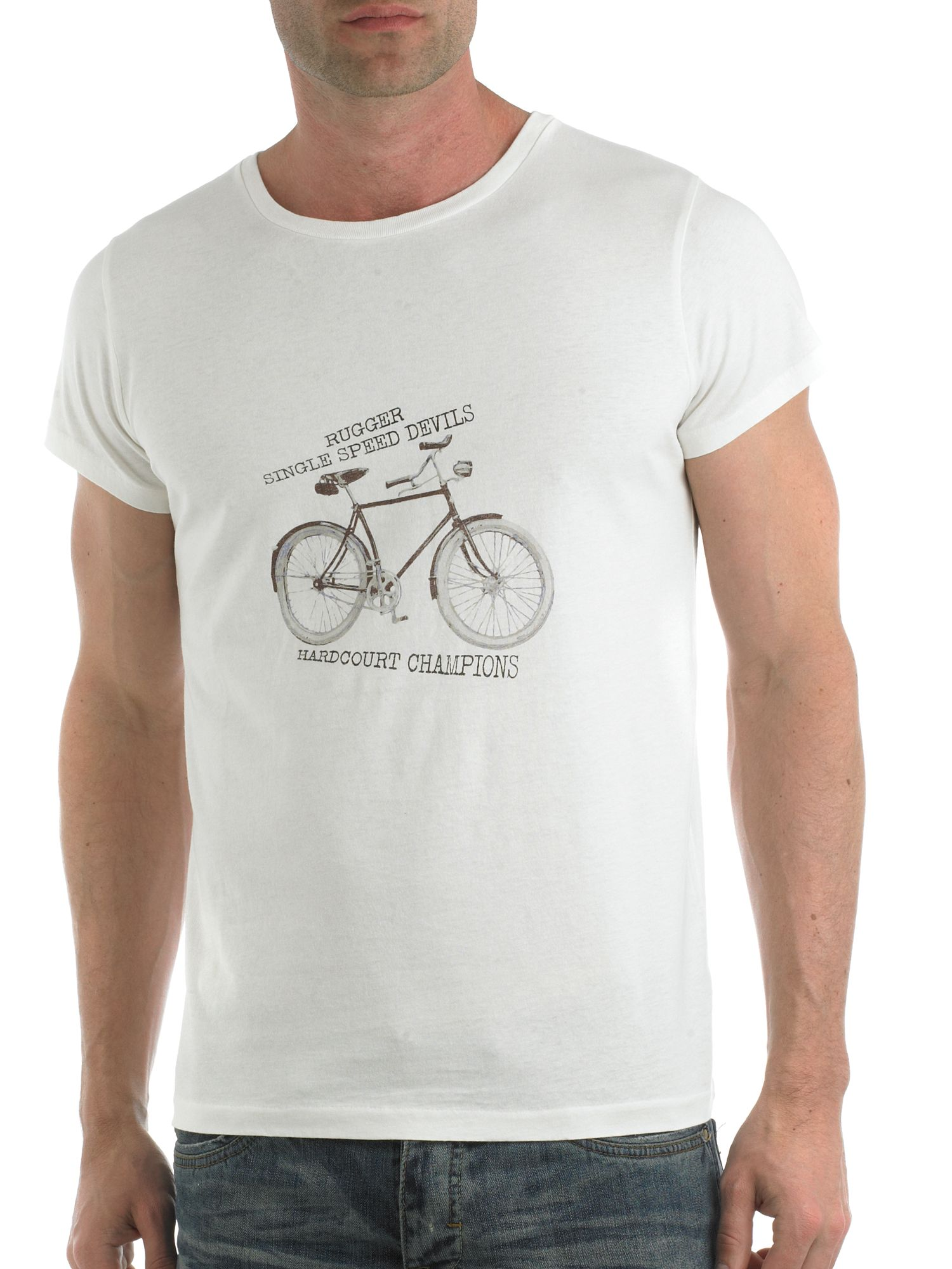 Rugger Bike hardcourt champions t-shirt product image