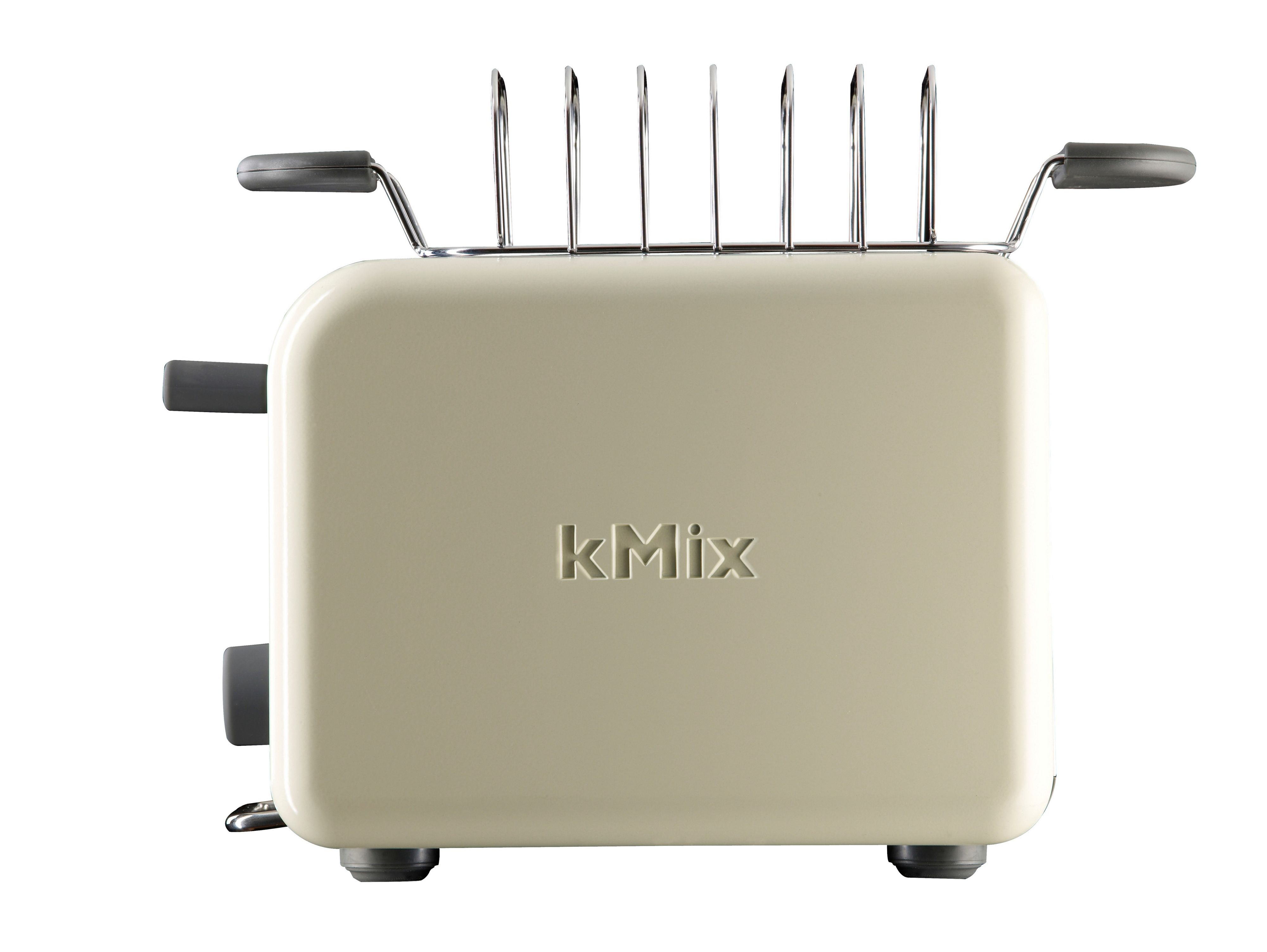 kMix Cream Gloss 2-Slice Toaster TTM022