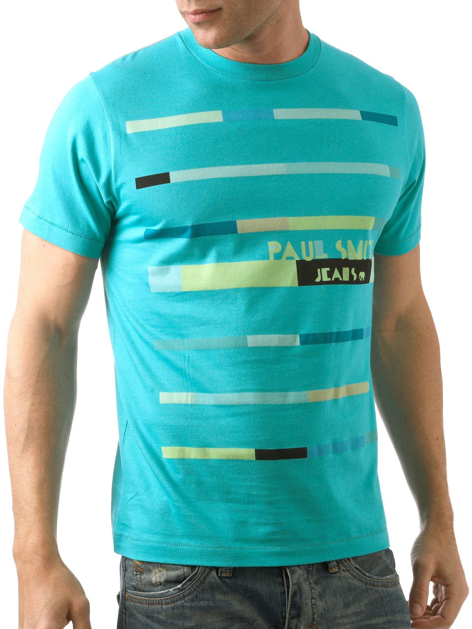 Paul Smith Jeans , lines t-shirt product image
