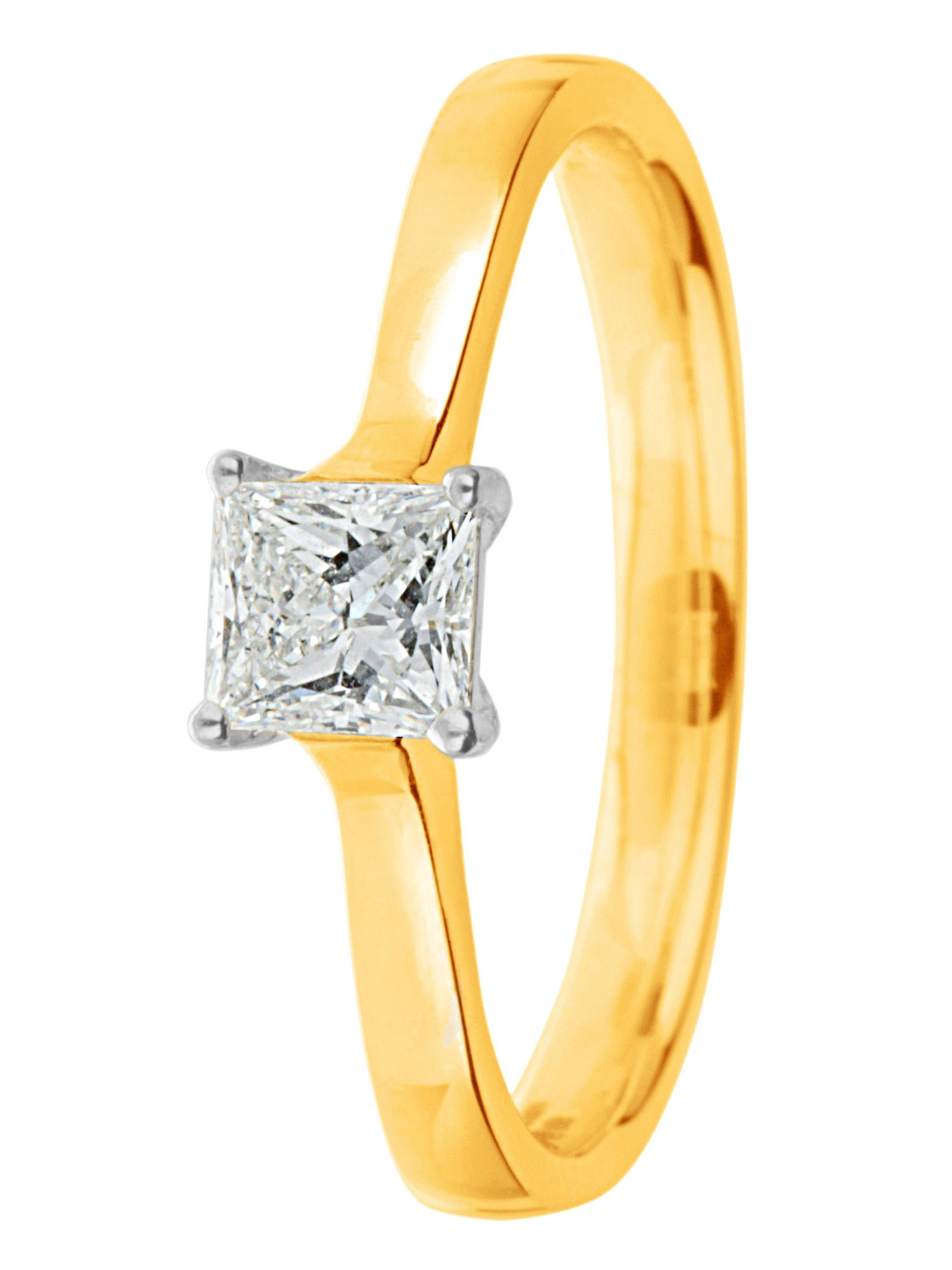 Ardesco 18ct gold 0.25ct diamond solitaire Gold