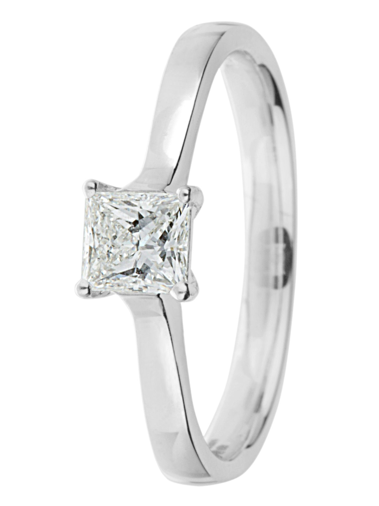 Ardesco 18ct gold 0.25ct diamond solitaire