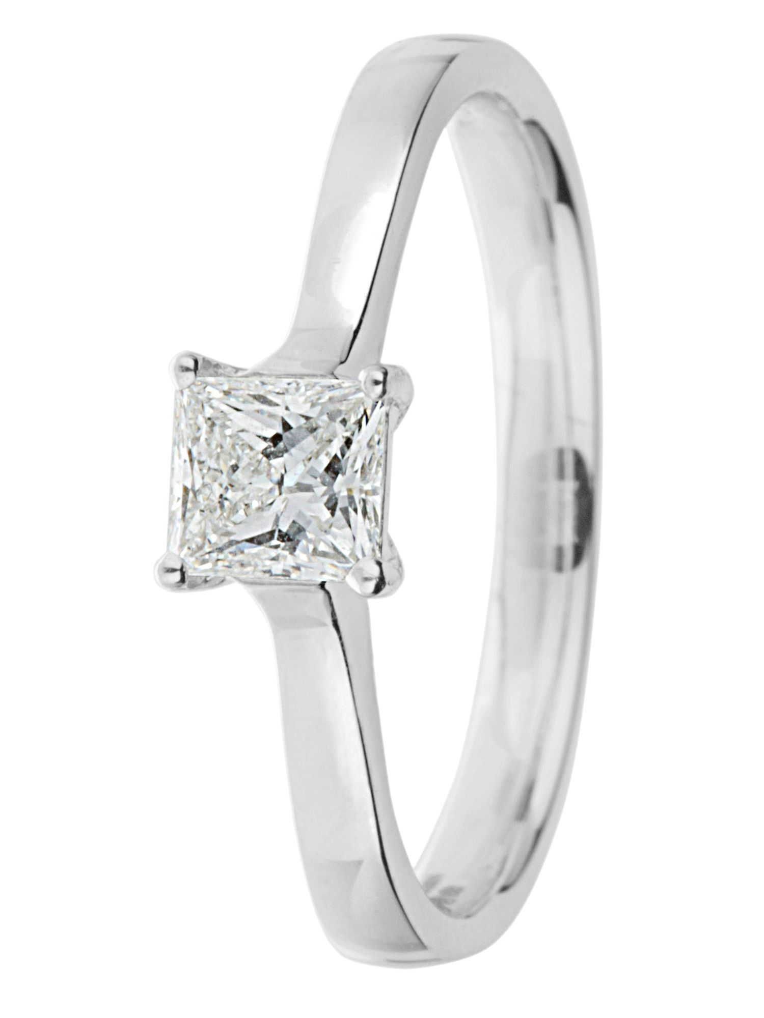 Goldsmiths Ardesco 18ct gold 0.30ct diamond solitaire White product image