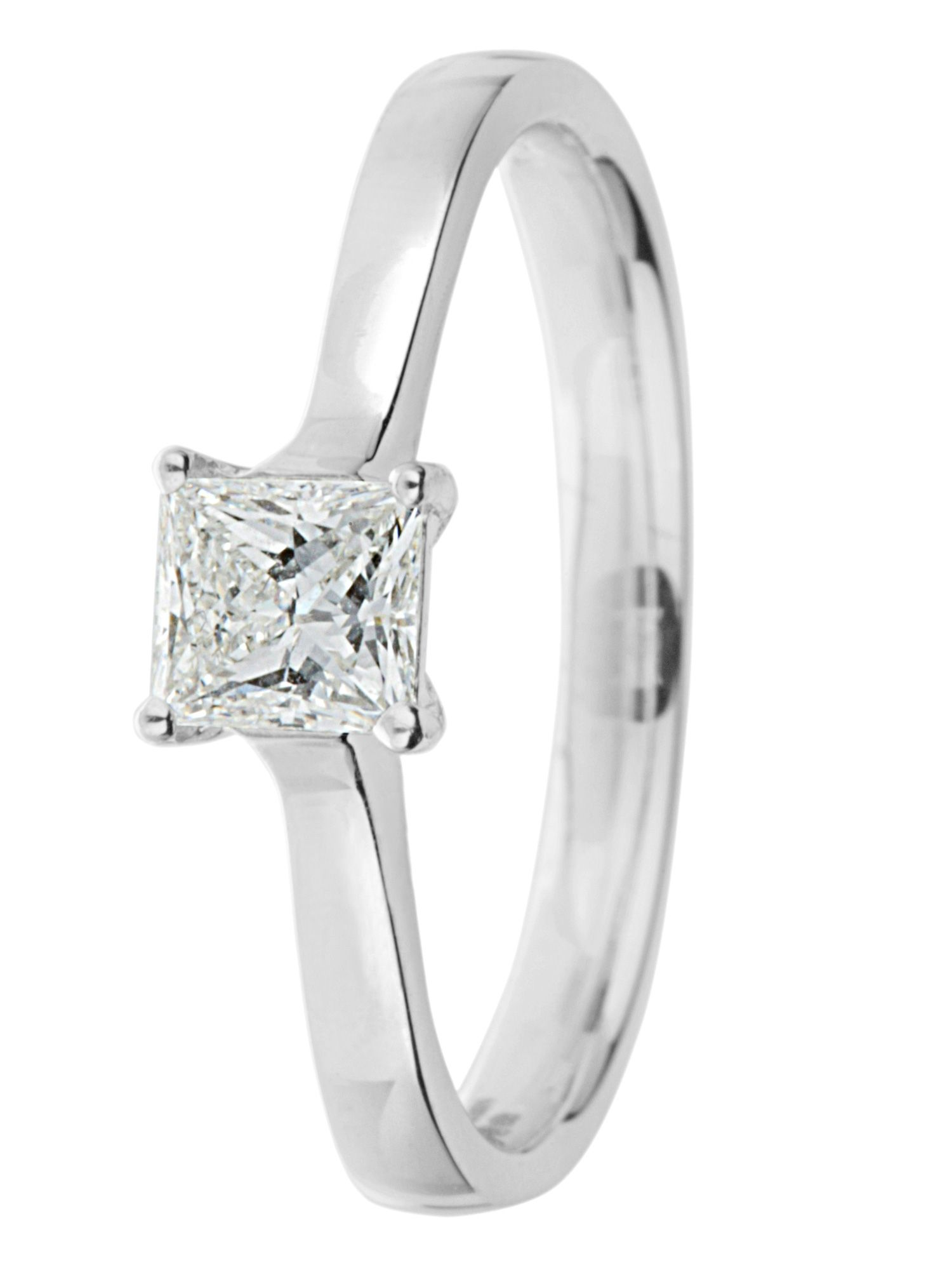 Ardesco 18ct gold 0.50ct diamond solitaire