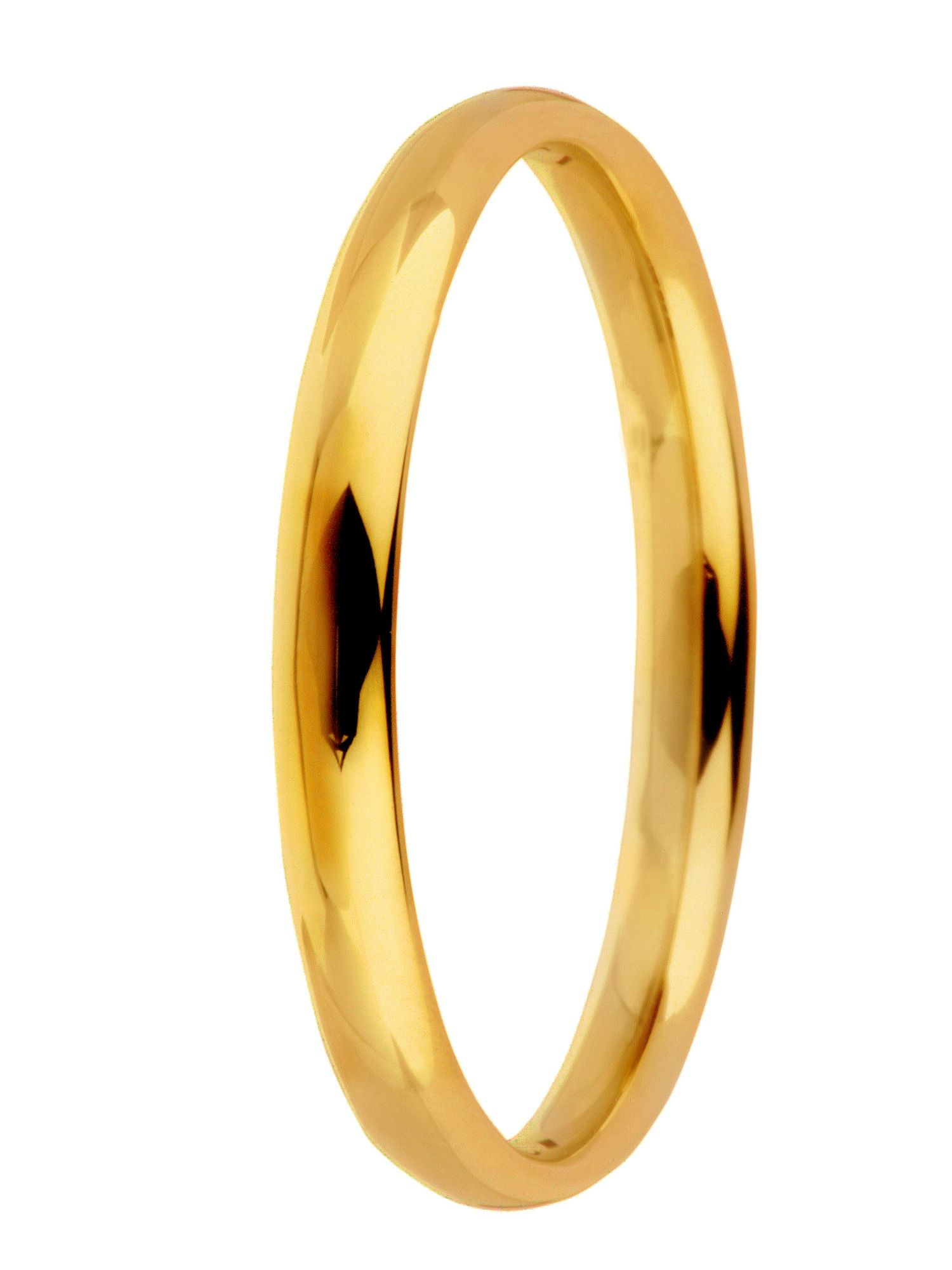 Grooms 18ct gold heavy court 4mm wedding ring - Gold