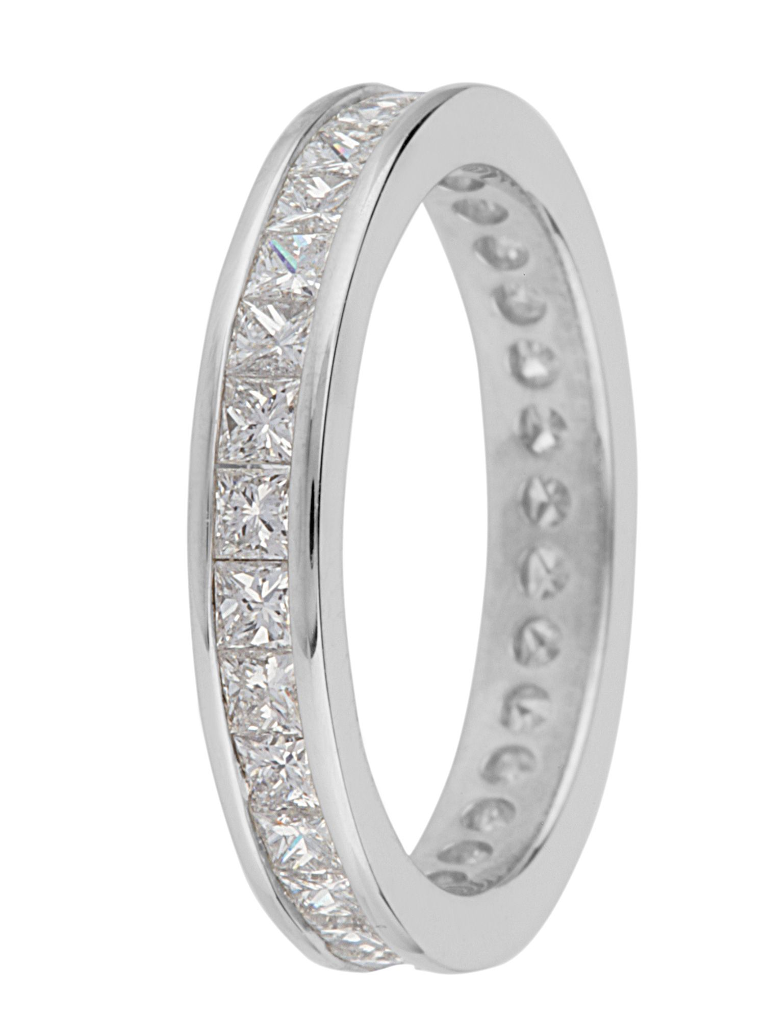 Brides platinum 1.50ct diamond eternity band