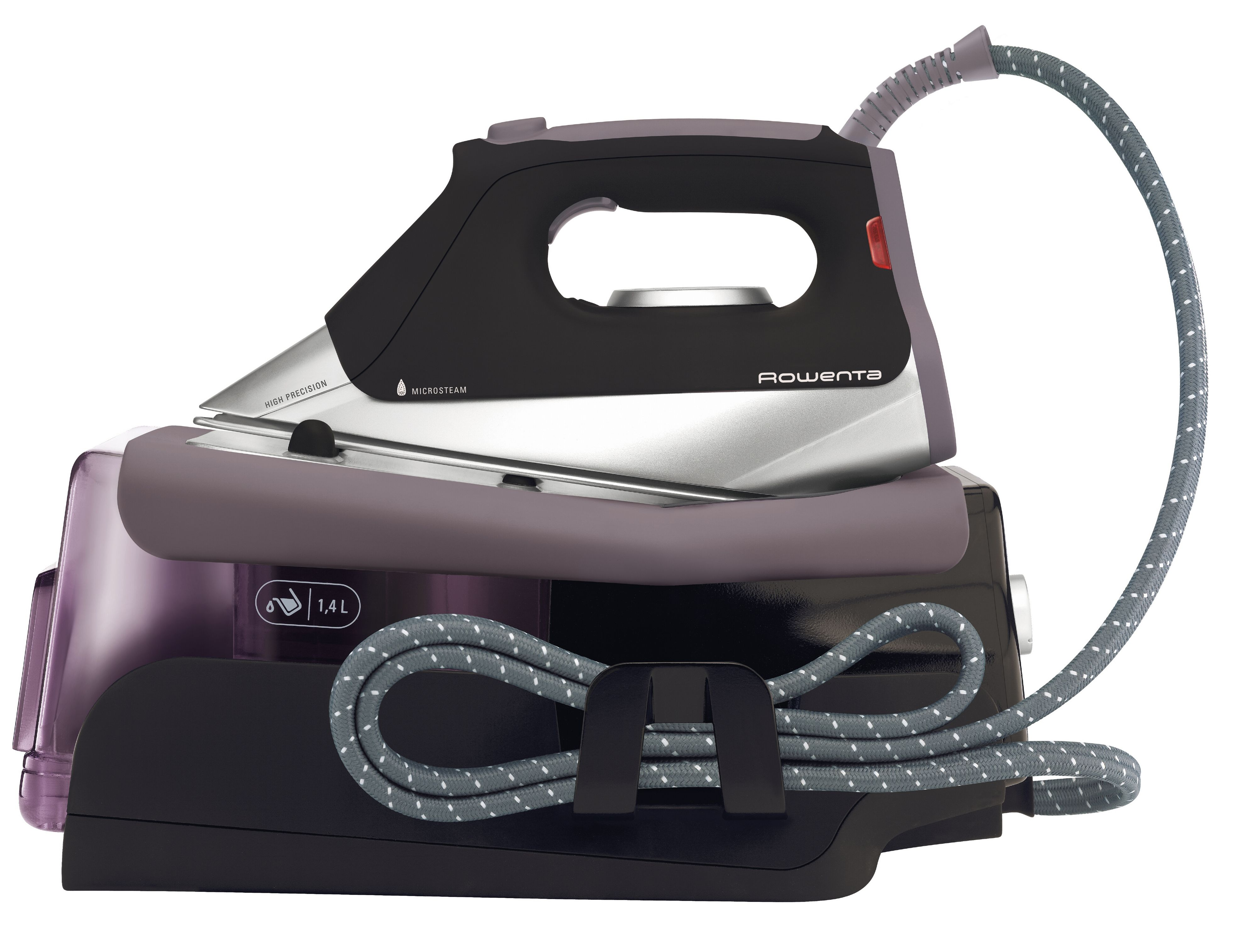 how to clean a rowenta steam generator iron