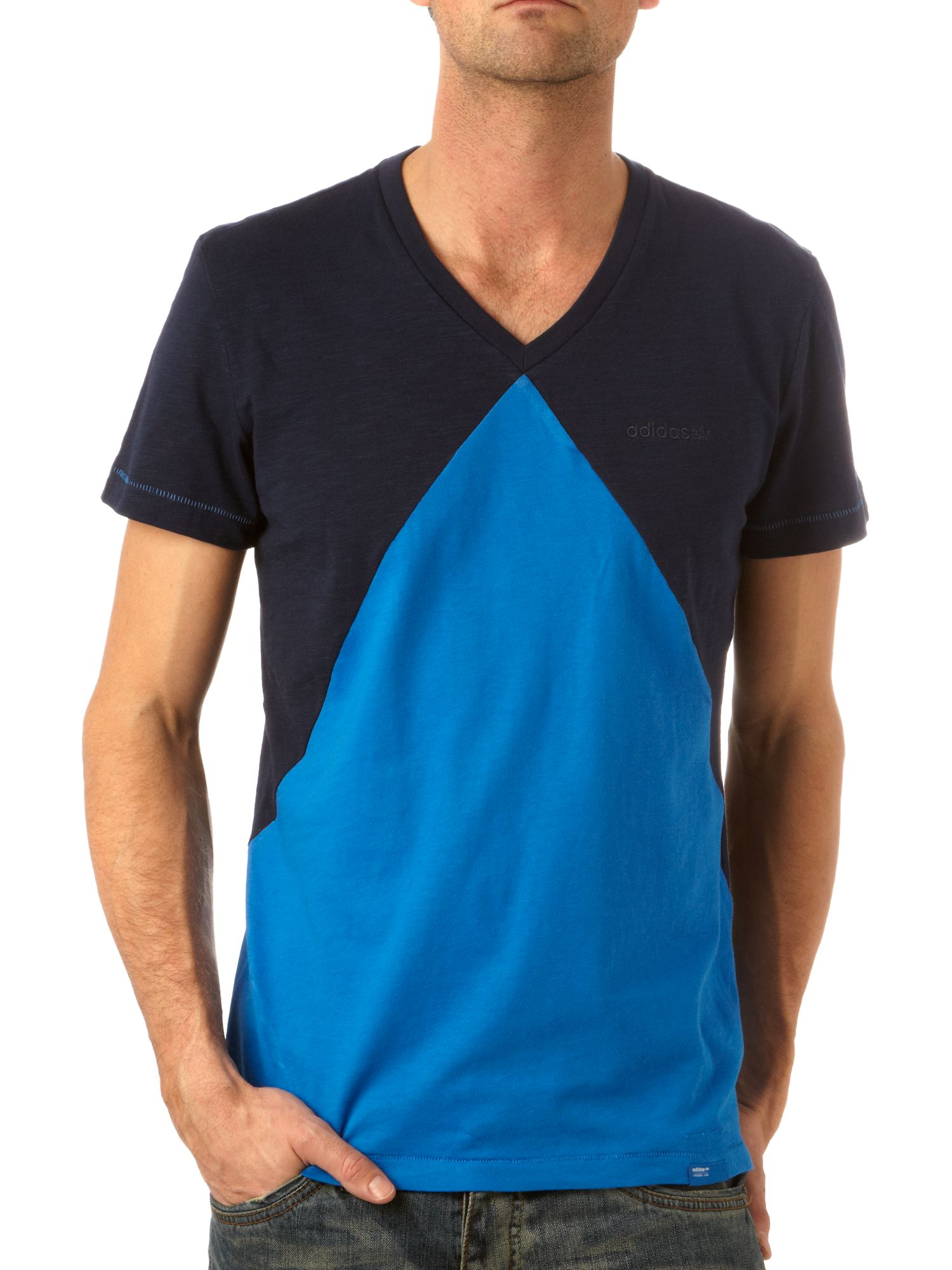 Adidas Triangle cut out T-shirt product image